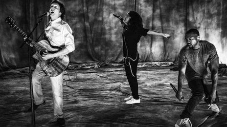 Hot Shot: Rihanna, Kanye West, & Paul McCartney Rehearse For Grammy Awards