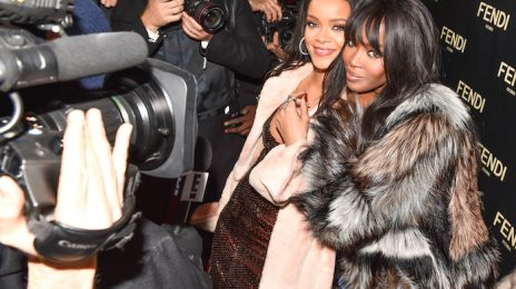Hot Shots:  More From Rihanna & Naomi Campbell's New York Night