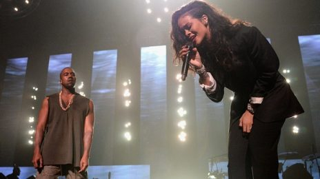Hot Shots: Rihanna Performs At DirecTV's Super Bowl Party With Kanye West
