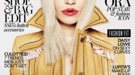 Rita Ora Stuns For InStyle Magazine