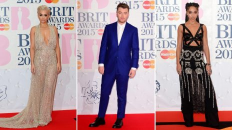 Red Carpet Arrivals:  2015 Brit Awards