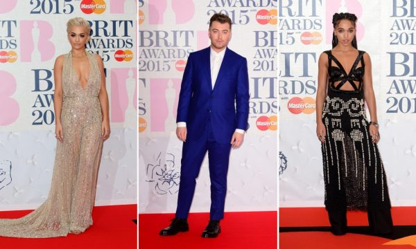 sam smith rita ora thatgrapejuice 2015 brit awards