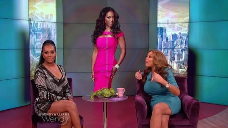 Watch: Vivica Fox Visits 'Wendy' / Claps Back At Kenya Moore