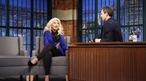 "Watch:  Christina Aguilera Impersonates 'Sex & The City' Star Kim Cattrall / Dishes On ""Nashville"" Role"