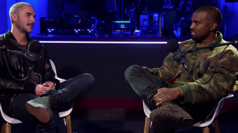 Did You Miss It?! Zane Lowe Meets Kanye West 2015