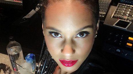 Hot Shot: Alicia Keys Returns To The Studio For New Album