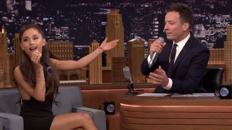 Hilarious: Ariana Grande Soars With Celine Dion Impression On 'Fallon'