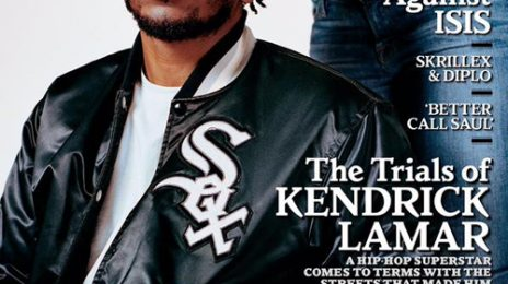 Twisting For A Titan: Kendrick Lamar Gets Hair Done On 'Rolling Stone' Cover