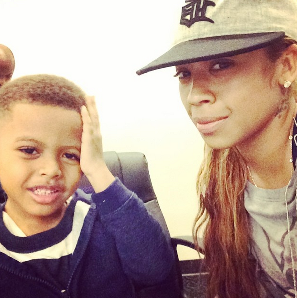 keyshia cole-son-booby-instagram