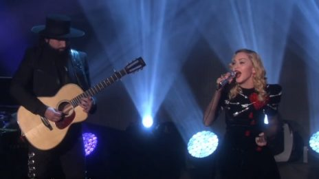 Watch: Madonna Performs 'Joan of Arc' On 'Ellen'