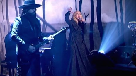 Watch: Madonna Performs New Single 'Ghosttown' On Italian TV Show