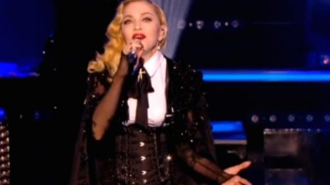 Watch: Madonna Performs 'Ghosttown' & 'Living For Love' On Le Grand Journal
