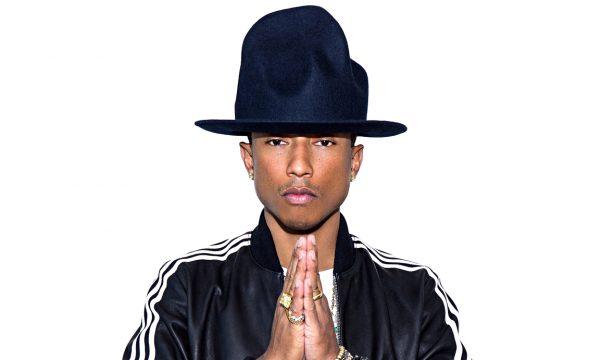 Pharrell Williams in Adidas