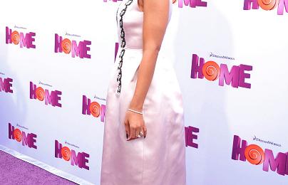 Hot Shots: Jennifer Lopez & Rihanna Stun At 'Home' Movie Premiere