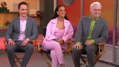 Watch: Rihanna Visits 'GMA' / Promotes New Movie 'Home'