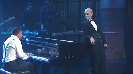 Watch: Rita Ora & Charles Hamilton Rock 'Seth Meyers' With 'NY Raining'