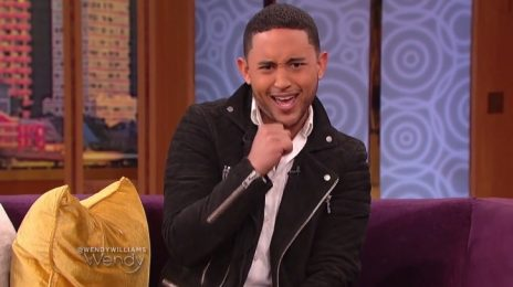 Watch: Tahj Mowry Visits 'Wendy' / Dishes On New Music