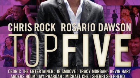 Competition: Win DVD of Chris Rock's 'Top Five' Movie!