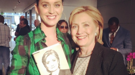 Katy Perry To Pen Theme Song For Hillary Clinton's Presidential Campaign?