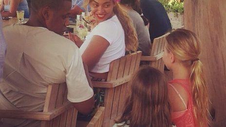 Hot Shot: Beyonce & Jay Z Celebrate 7th Wedding Anniversary In Hawaii