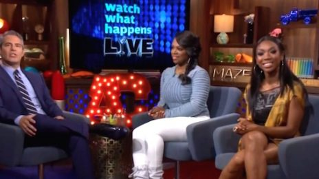 Brandy Visits 'Watch What Happens Live' / Dishes On 'Chicago' & New Album