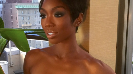 Hot Shot: Brandy Unlocks Brand New Look
