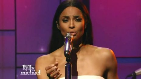 Watch: Ciara Belts 'I Bet' On 'Kelly and Michael' [Performance]
