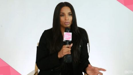 Ciara Visits BET To Chat 'Jackie' Album & Being A 'B.M.F'