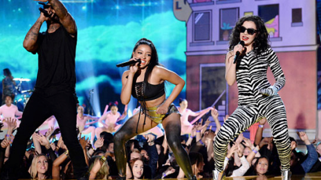 Did You Miss It?! Ty Dolla $ign, Tinashe & Charli XCX 'Drop That Kitty' At 'The MTV Movie Awards'