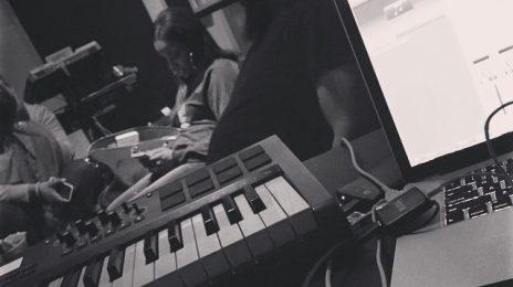 Hot Shot: Kelly Rowland Hits Studio With Polow Da Don