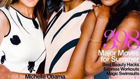 Kerry Washington Covers 'Glamour' With Michelle Obama