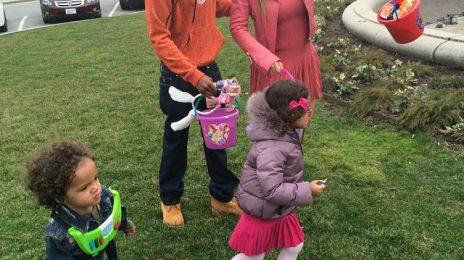 Hot Shot: Mariah Carey & Nick Cannon Reunite For Easter