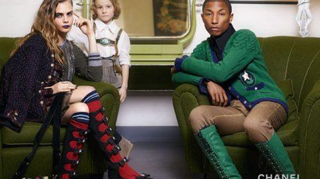 Hot Shots:  Pharrell Williams Named New Face of Chanel