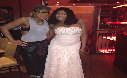 Hot Shot: Tamar Braxton Dines With Benzino