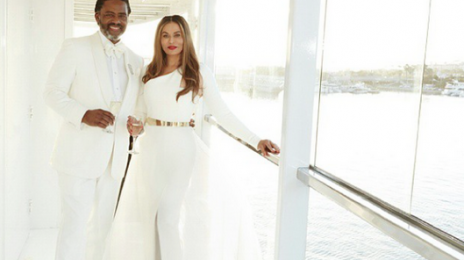 Hot Shot: Tina Knowles Weds Richard Lawson