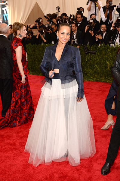 alicia keys met gala 2015