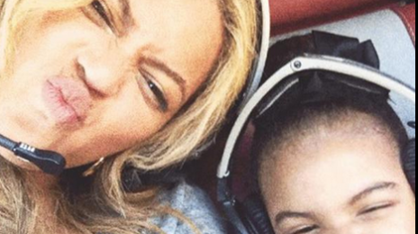 Hot Shots:  Beyonce & Blue Ivy Beam In New Snaps