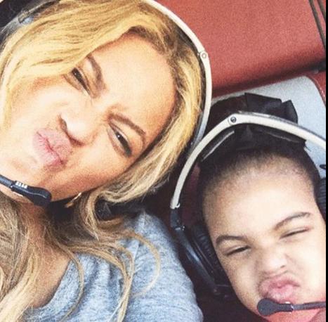 Beyonces Daughter Blue Ivy Looks Just Like Dad JayZ