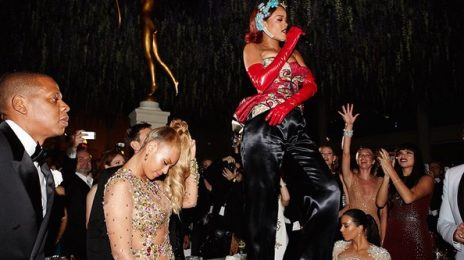 Watch: Rihanna Performs 'Bitch Better Have My Money' In Front Of Beyonce At MET Gala