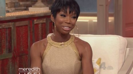Brandy Visits 'Meredith' / Talks 'Chicago' & Joining 'Empire'