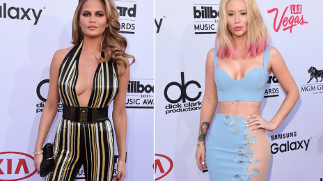 Uh Oh! Watch What Happens When Chrissy Teigen Spots Iggy Azalea At The 'Billboard Music Awards'