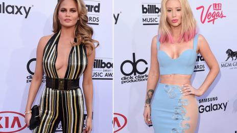 Uh Oh! Watch What Happens When Chrissy Teigen Spots Iggy Azalea At The 'Billboard Music Awards'