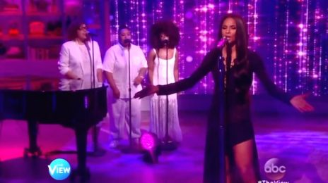 Watch: Ciara Belts 'I Bet' On 'The View' [Performance]