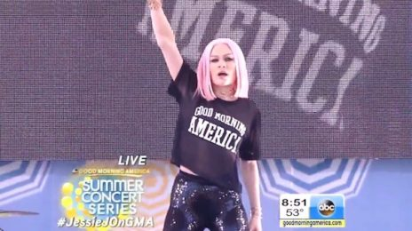 Watch: Jessie J Blazes On 'Good Morning America Summer Concert Series' [Performances]