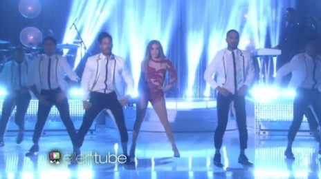 Watch: Jennifer Lopez Rocks 'Ellen' With 'Greatest Hits Medley'