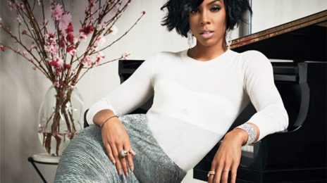 Hot Shot: Kelly Rowland Shows Off Baby Titan