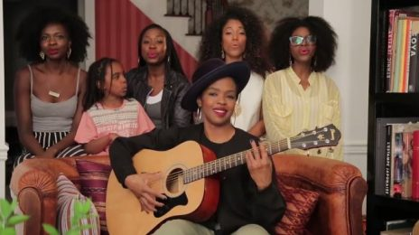 Watch:  Lauryn Hill Thrills With Acoustic Performance of 'Doo Wop (That Thing)' On Facebook