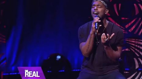 Watch: Luke James Belts 'Exit Wounds' On 'The Real' [Performance]