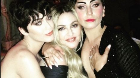 Hot Shot:  Madonna, Lady Gaga, & Katy Perry Kiss & Make Up At 2015 Met Gala
