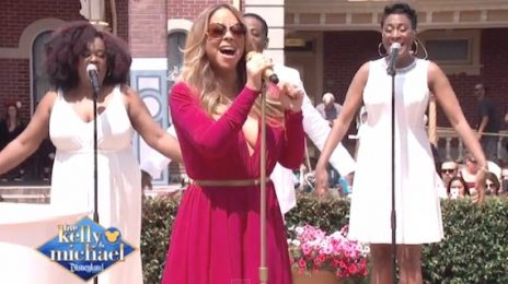 Watch: Mariah Carey Amazes On 'Kelly & Michael' [Performance]